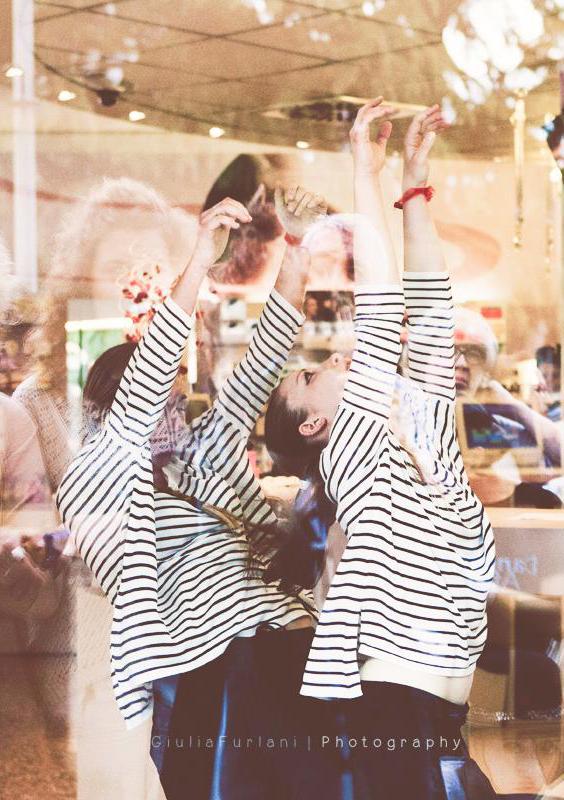 La danza in vetrina