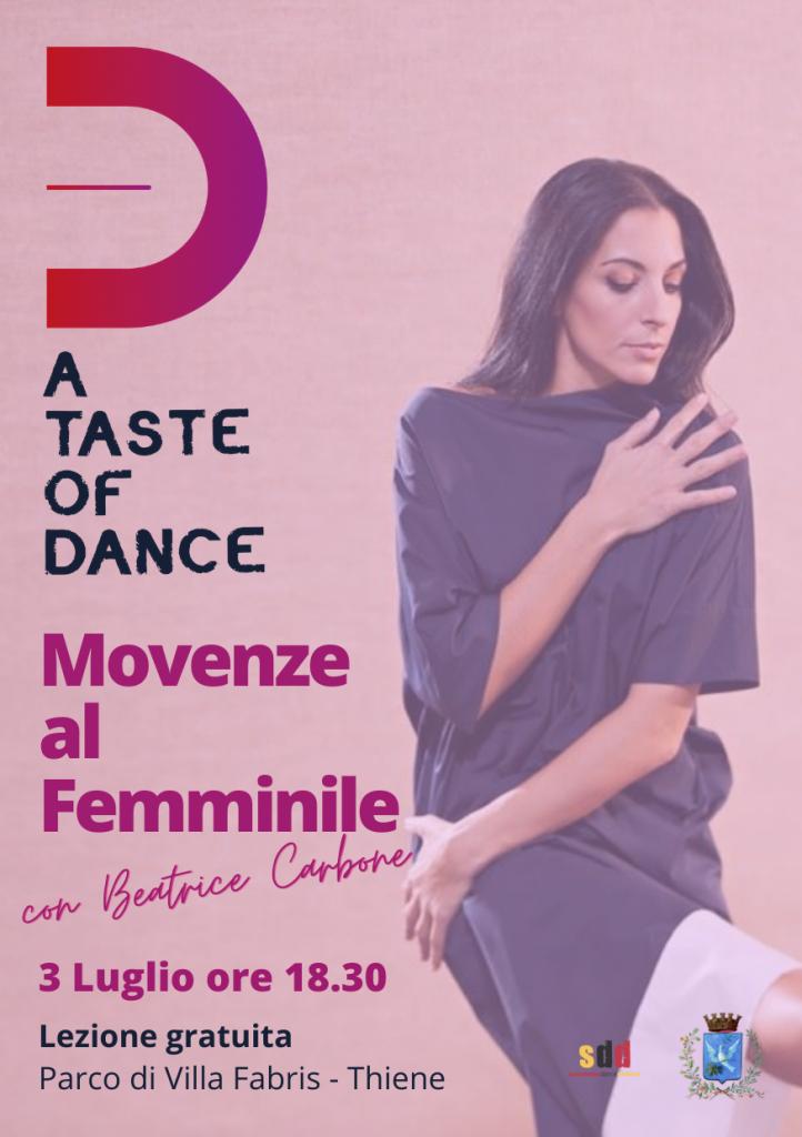 Movenze al Femminile con Beatrice Carbone